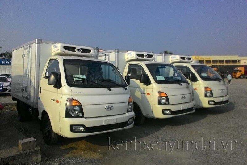 Bán trả thẳng, trả góp xe tải Hyundai 1 tấn Đông lạnh chính hãng
