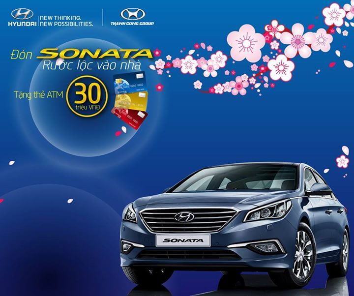 Hyundai sonata khuyen mai