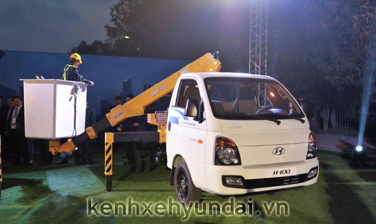 Hyundai H100 lap cau