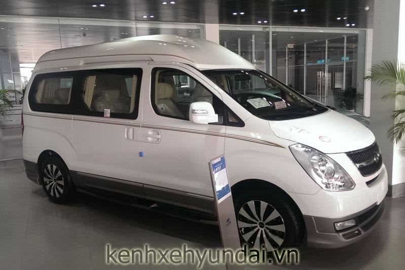 hyundai starex limousine mau trang 3