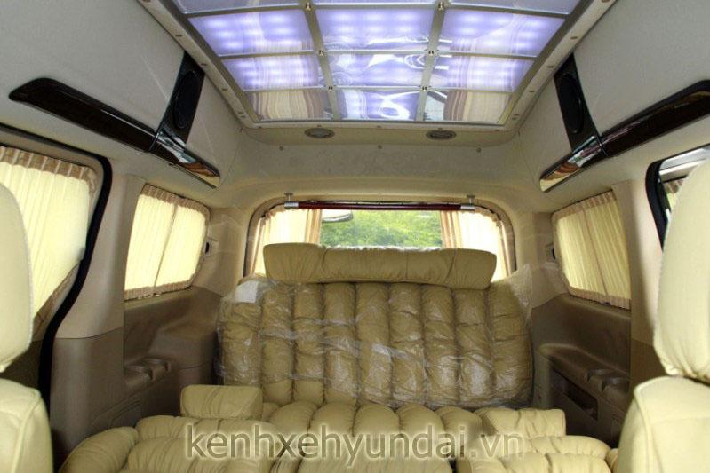 hyundai starex limousine mau trang 9
