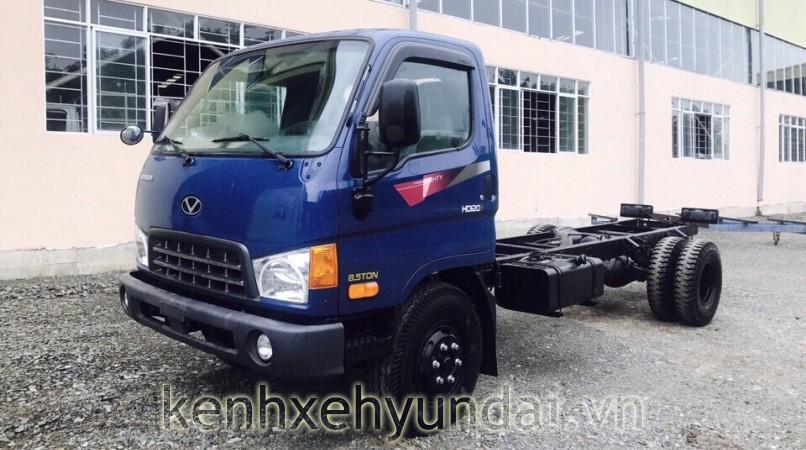Xe tải Hyundai HD120S Đô Thành dòng xe nâng tải cao giá tốt