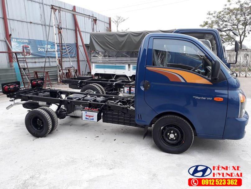 Khung gầm Hyundai porter 150 H150
