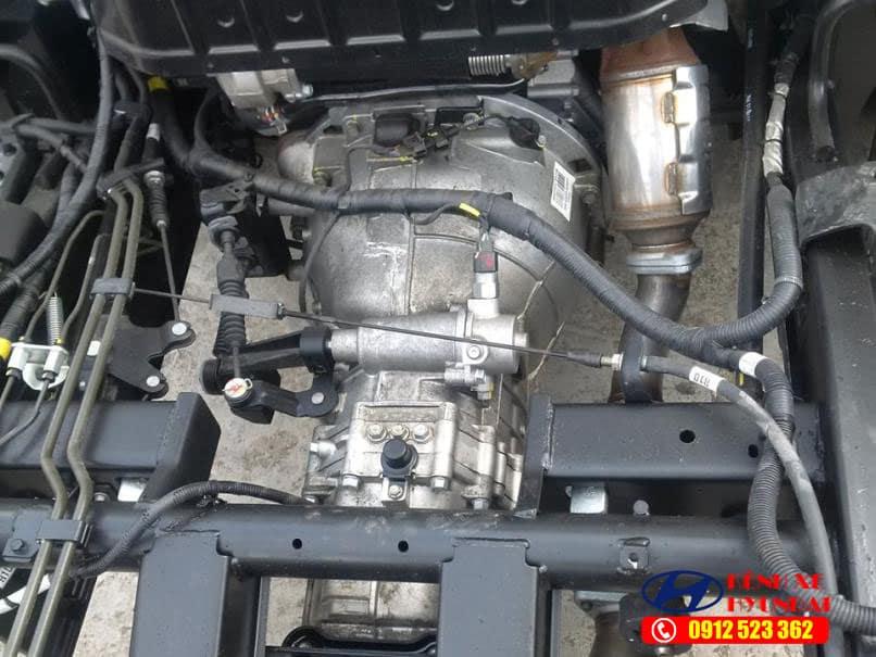Động cơ hyundai porter 150 H150