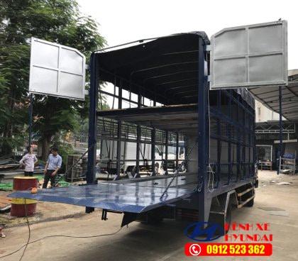 bung nang thung cho xe may hd700 dong vang kenhxehyundai