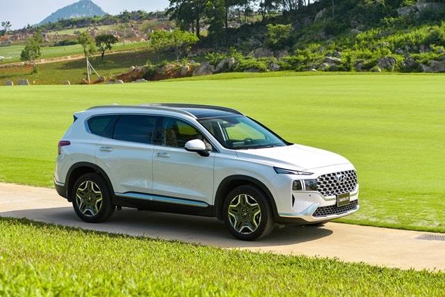 Tổng thể Hyundai Santafe 2021