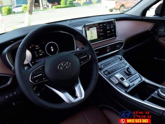 Tap lô Hyundai Santafe xăng cao cấp