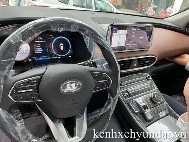 Tap lô Hyundai Santafe màu xanh