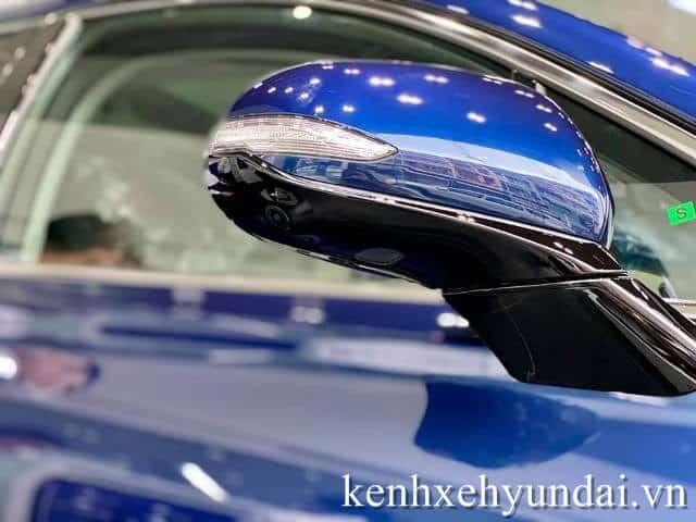 Camera 360 Hyundai Santafe màu xanh