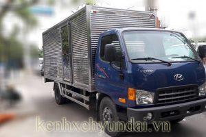 Giới thiệu xe tải Hyundai HD700 Đồng Vàng Thùng kín 7 Tấn