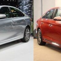 Toyota Camry và Hyundai Sonata – cuộc chiến Nhật-Hàn