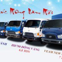 Thông số, giá bán xe tải Hyundai HD700 Đồng Vàng, HD99, Veam New Mighty