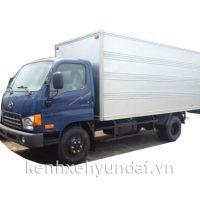 Xe tải Hyundai HD700 Đồng Vàng Thùng kín