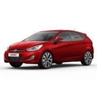 Hyundai Accent 5 Cửa Màu Đỏ