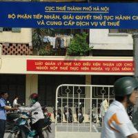 Chi cục thuế tại Hà Nội