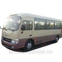 Xe khách 29 chỗ Hyundai County Thân Dài Đồng Vàng Kính Lùa