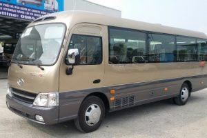 Giới thiệu Xe khách Hyundai County Thân dài Đồng Vàng, County One Đồng Vàng