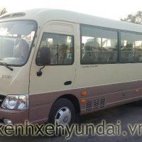 Xe khách Hyundai County Đồng Vàng Thân dài New model