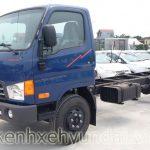 Ngoại thất xe tải Hyundai HD700 Đồng Vàng 7 Tấn
