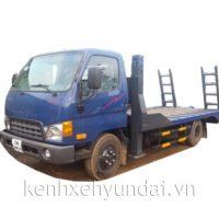 Xe tải Hyundai HD700 Đồng Vàng nâng đầu chở xe máy chuyên dùng