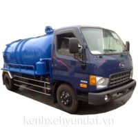 Xe tải Hyundai HD800 Veam Xi téc hút chất thải 7m3
