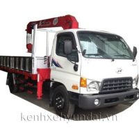 Xe tải Hyundai HD99 6.5T lắp cẩu