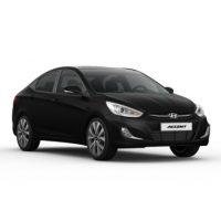 Hyundai Accent 1.4 AT Màu Đen