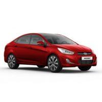 Hyundai Accent 1.4 AT Màu Đỏ