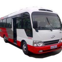 Xe khách 29 chỗ Hyundai County thân dài Limousine