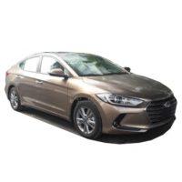 Hyundai Elantra 1.6 AT Màu Vàng Cát – Nâu