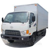 Xe tải Hyundai HD600 Đồng Vàng 5,5Tấn Thùng kín