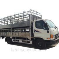 Xe tải Hyundai HD700 Đồng Vàng chở lợn, gà 6,8 Tấn