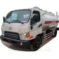 Xe tải Hyundai HD700 Đồng Vàng chở xăng dầu 9m3