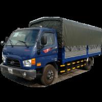 Xe tải Hyundai HD78 4,5 tấn Thùng Mui Bạt