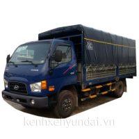 Xe tải Hyundai HD99 Cabin nhập 6,5 Tấn Thùng mui bạt