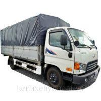 Xe tải Hyundai HD99 6,5 Tấn Thùng mui bạt nhôm