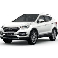 Hyundai Santafe Màu Trắng Máy Dầu Đặc Biệt