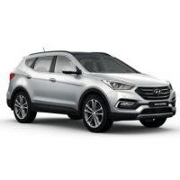 Hyundai Santafe Màu Bạc Máy Dầu Đặc Biệt