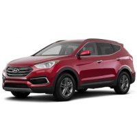 Hyundai Santafe Màu Đỏ Máy Dầu Đặc Biệt