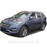 Hyundai Santafe Màu Xanh Đá Máy Dầu Đặc Biệt