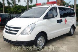 Giới thiệu xe cứu thương Hyundai Starex H-1 máy dầu