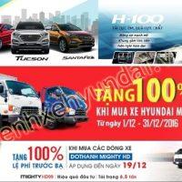 Sôi động thị trường xe Hyundai năm 2016-2017
