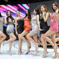 Pg Girl nổi bật với các dòng xe Hyundai tại Auto Show