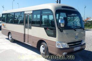 Giới thiệu xe khách Hyundai e-County XL Đô Thành Thân dài