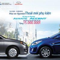Mua xe Hyundai – Thoải mái phụ kiện