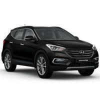 Hyundai Santafe Màu Đen Máy Dầu Đặc Biệt