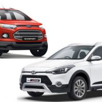 Thông số, option xe Hyundai i20 Active / Ford EcoSport