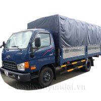 Xe tải Hyundai HD88 5,5Tấn Thùng mui bạt
