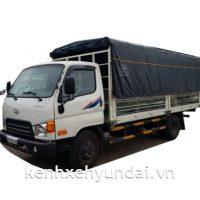 Xe tải Hyundai HD99 6,5 Tấn Thùng mui bạt bửng nâng hạ