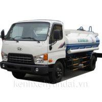 Xe tải Hyundai HD99 xi téc chở nước 6m3